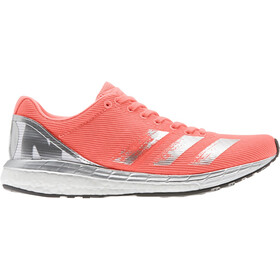 adidas Adizero Boston 8 Zapatillas Mujer, signal coral/silver metal/footwear white
